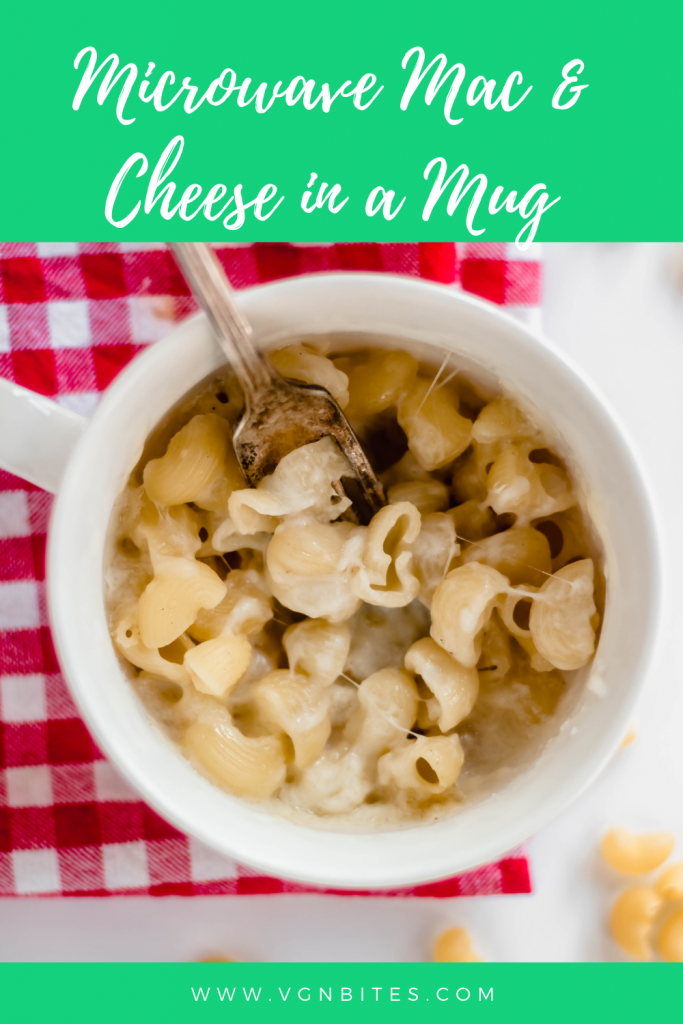 Number 1 Easy Microwave Vegan Macaroni Cheese In A Mug Lunch Vgnbites